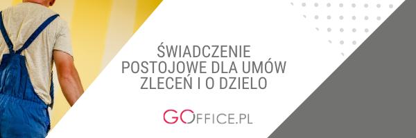 świadczenie postojowe - Goffice.pl
